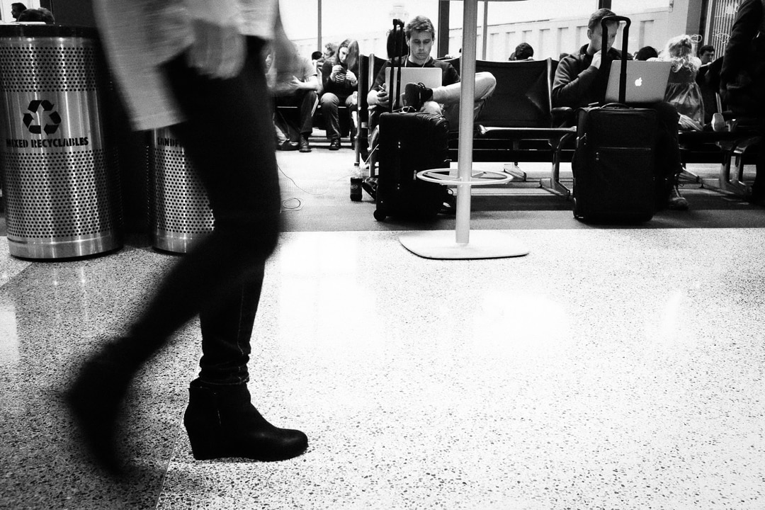 """At the Airport"" Austin, 2017"