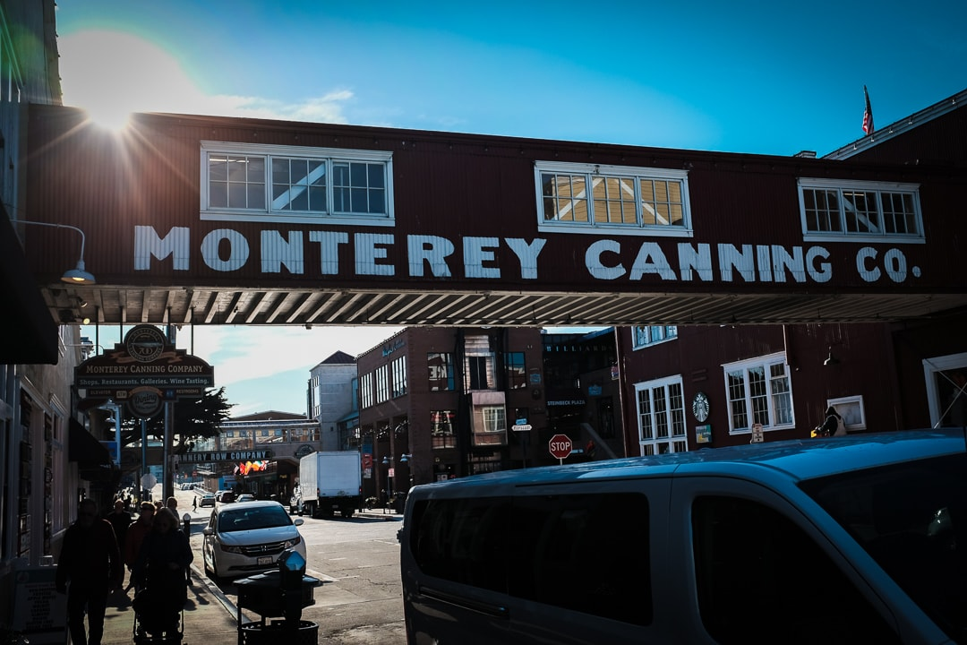 """Cannery Row"" Monterey, 2017"