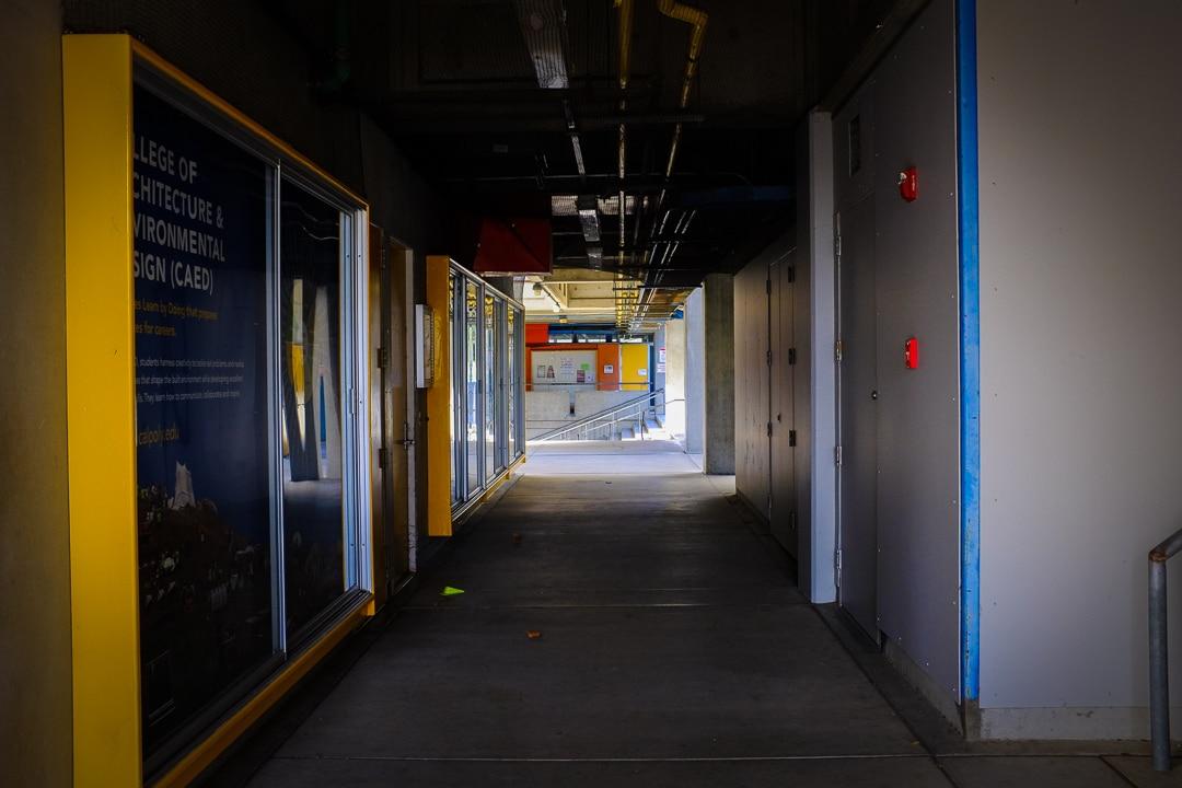 """Hallway"" San Luis Obispo, 2017"