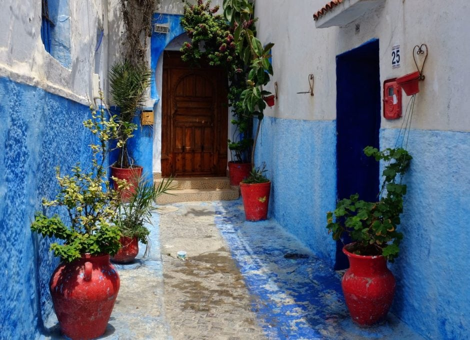 """""""Kasbah Alleyway"""" Rabat, 2017"""