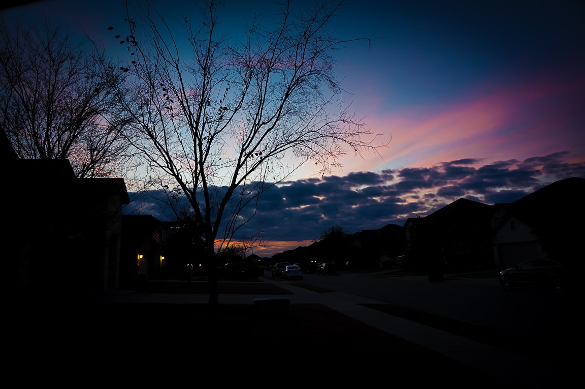 """Sunset"" Cedar Park, 2018"