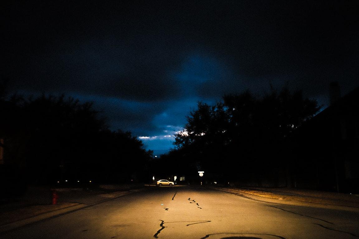 """Storm Coming"" Cedar Park, 2018"