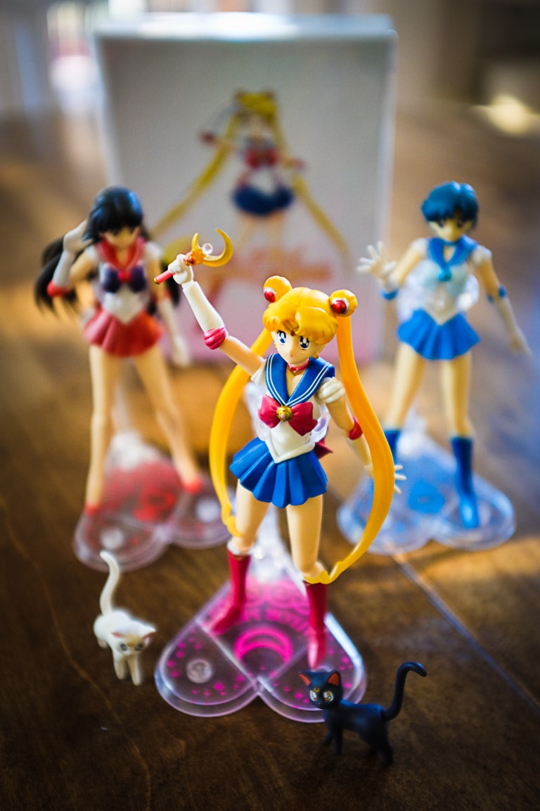 """Sailor Moon, Sailor, Mars, and Sailor Mercury"" Cedar Park, 2018"