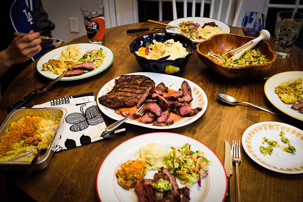"""""""Steak Dinner"""" Cedar Park, 2018"""