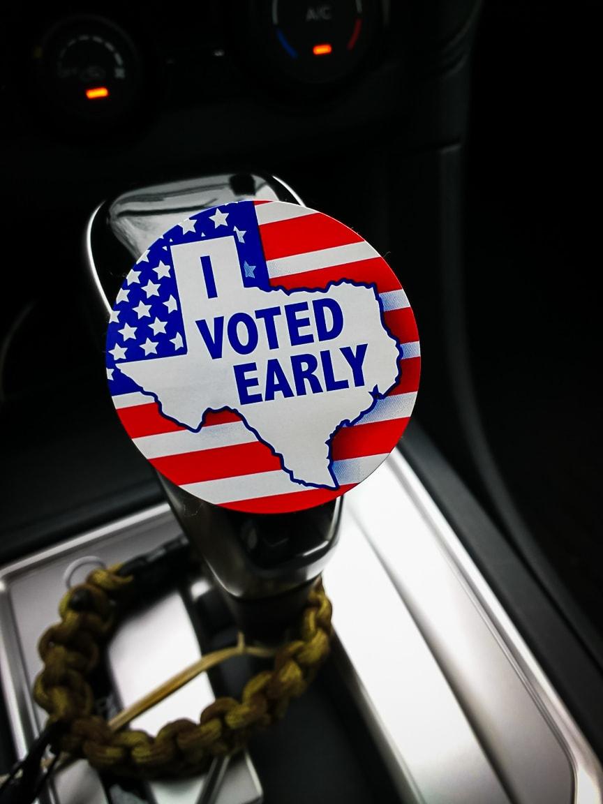"""Vote"" Cedar Park, 2018"