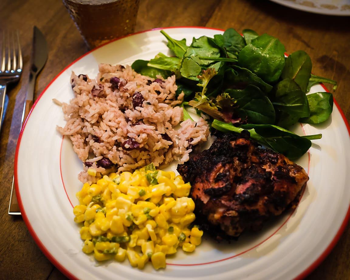 """""""Jamaican Dinner"""" Cedar Park, 2018"""