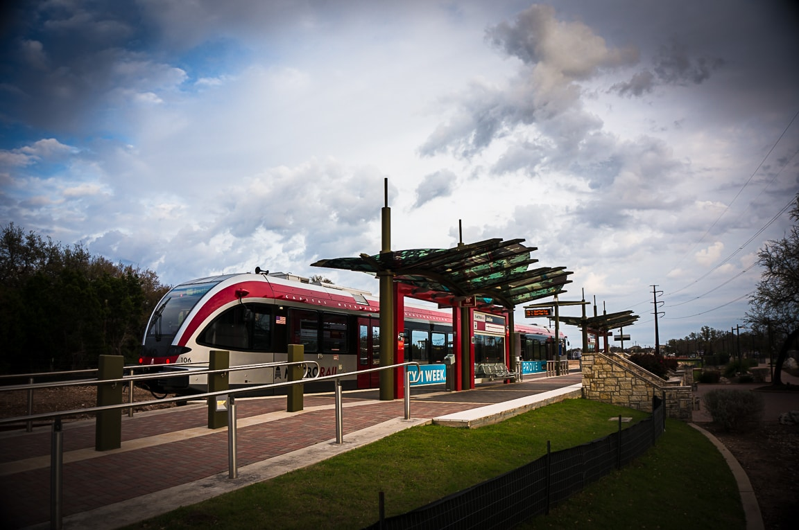 """MetroRail"" Austin, 2018"