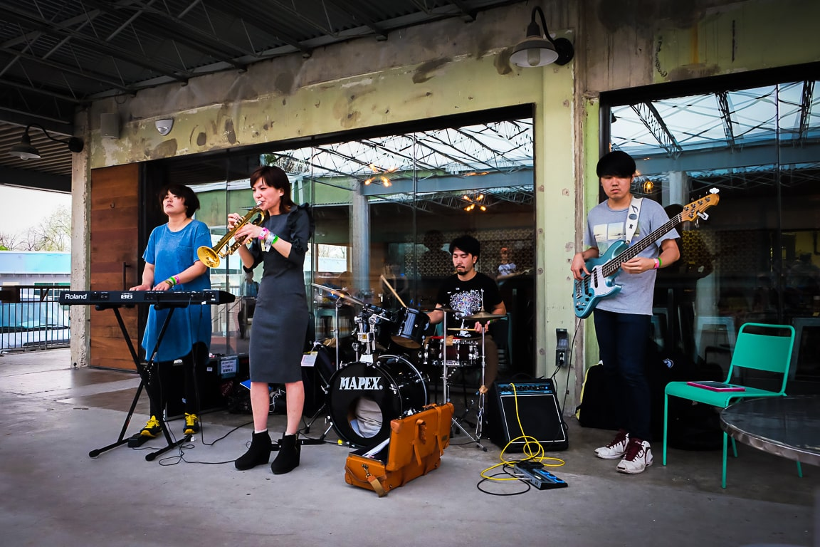 """Chihiro Yamazaki+Route 14 Band"" Austin, 2018"