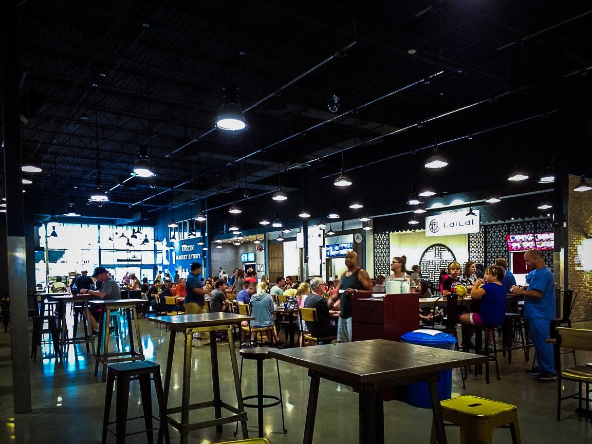 """Food Court"" Austin, 2018"