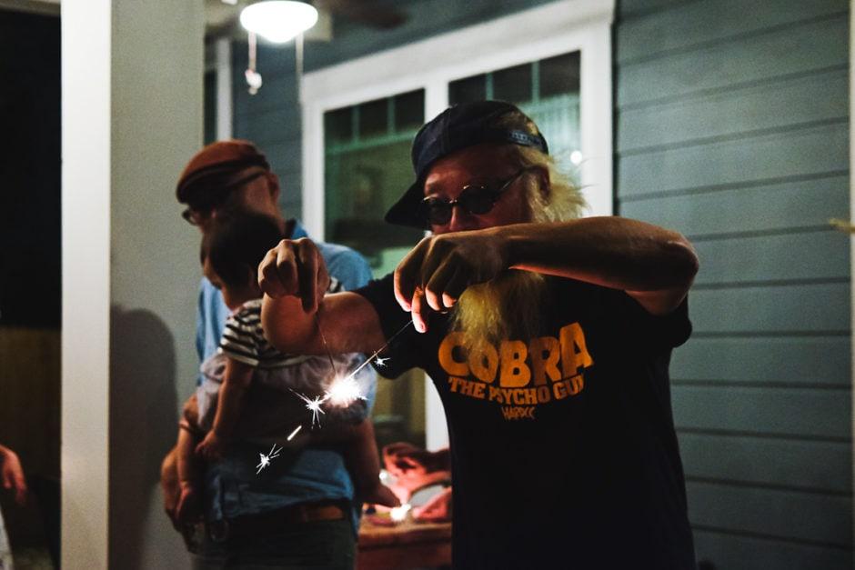 """Sparklers"" Austin, 2018"