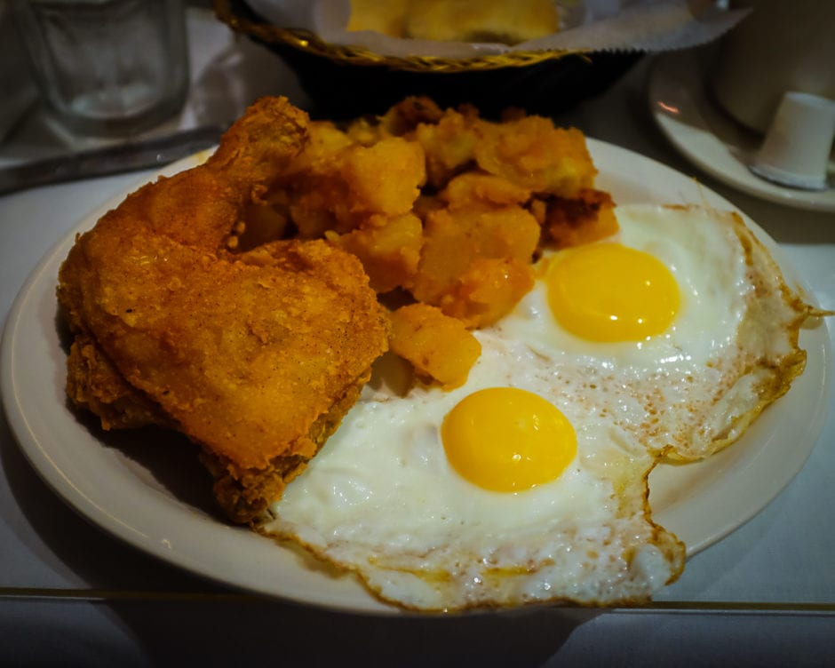 """Fried Chicken and Eggs"" New York City, 2018"