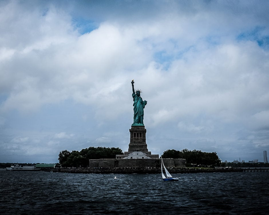 """Statue of Liberty"" New York Harbor, 2018"