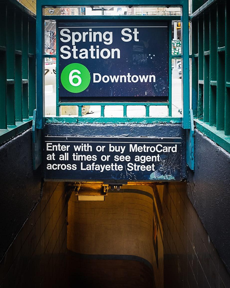 """Subway Entrance"" New York City, 2018"