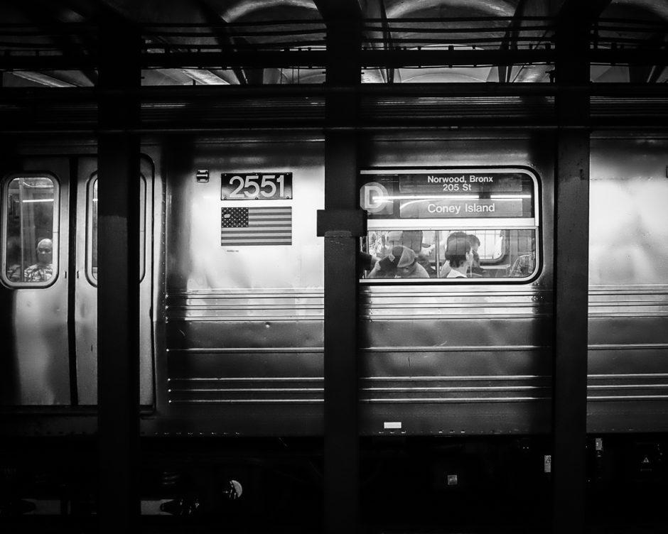 """Coney Island Bound"" New York City, 2018"