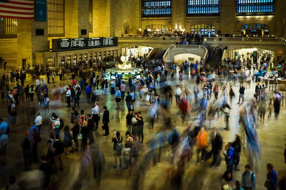 """""""Rush Hour"""" New York City, 2018"""