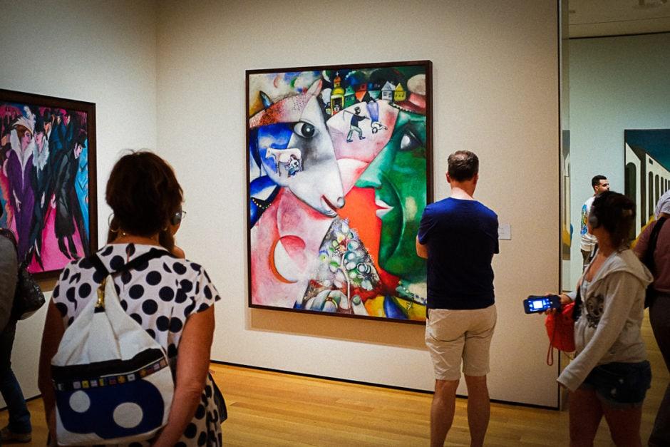 """Favorite Chagall"" New York City, 2018"