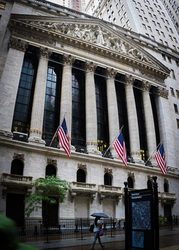 """NYSE"" New York City, 2018"