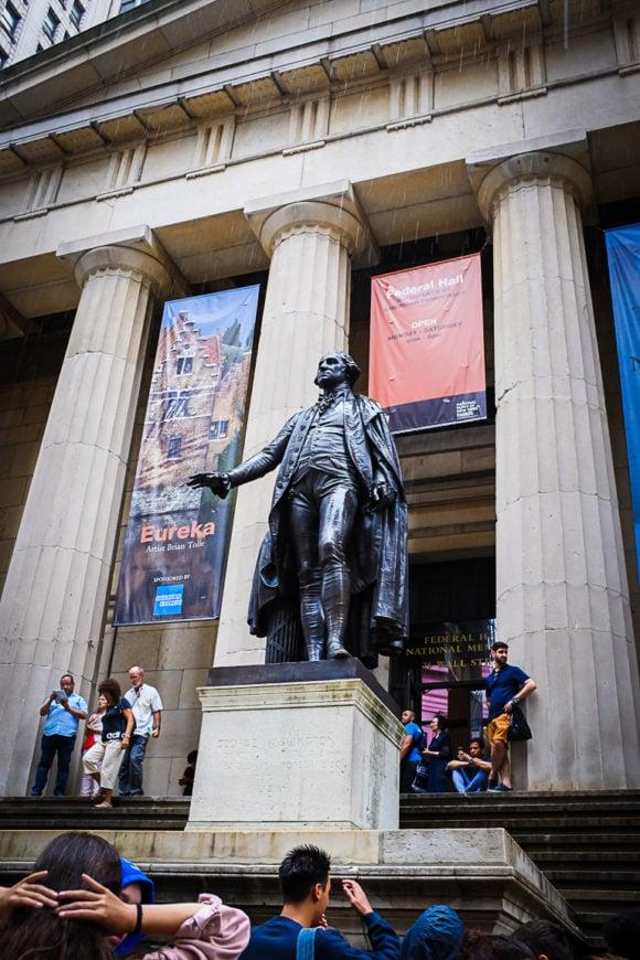 """George Washington"" New York City, 2018"