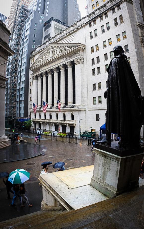 """George Washington and NYSE"" New York City, 2018"