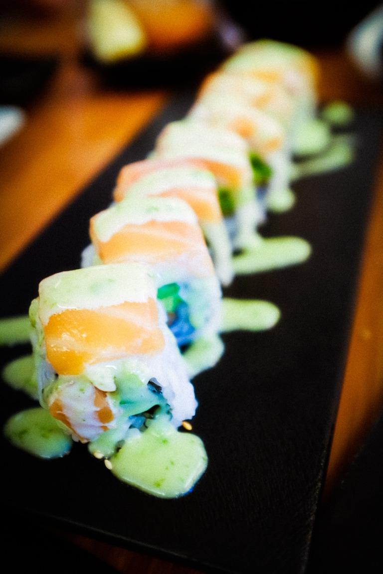 """""""Sushi Roll"""" Austin, 2018"""