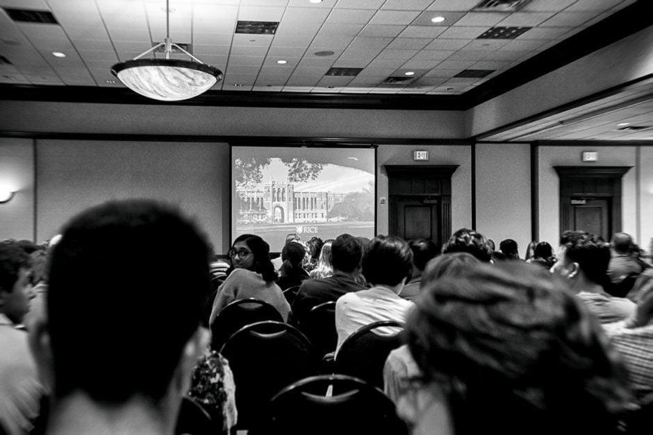 """Rice University Presentation"" Round Rock, 2018"