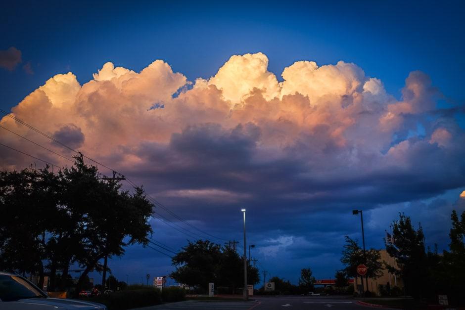 """""""Majestic Cloud"""" Cedar Park, 2018"""