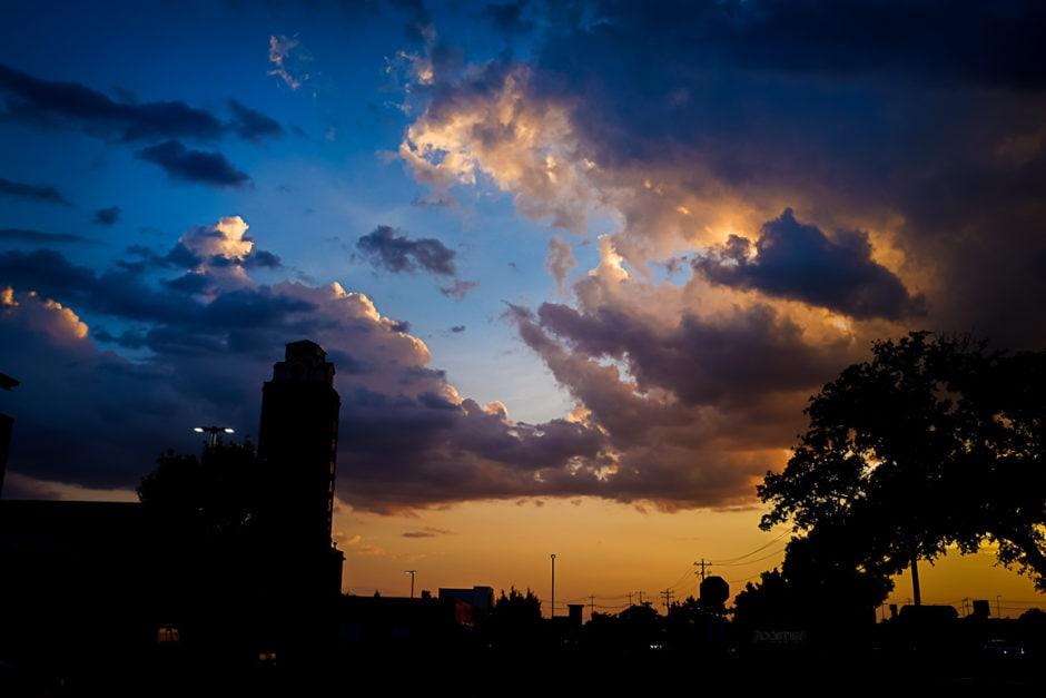 """""""Fiery Sky"""" Cedar Park, 2018"""