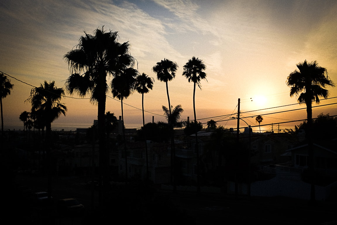 """Sunset"" Redondo Beach, 2018"