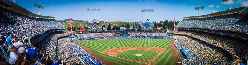 """Dodger Stadium"" Los Angeles, 2018"