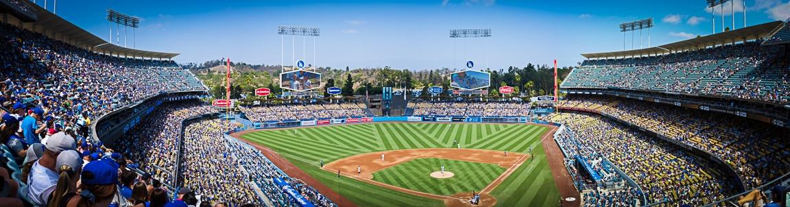 """Dodger Stadium"" Los Angeles, 2018"