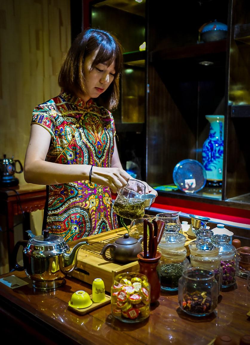 """""""Tea Prep"""" Beijing, 2018"""