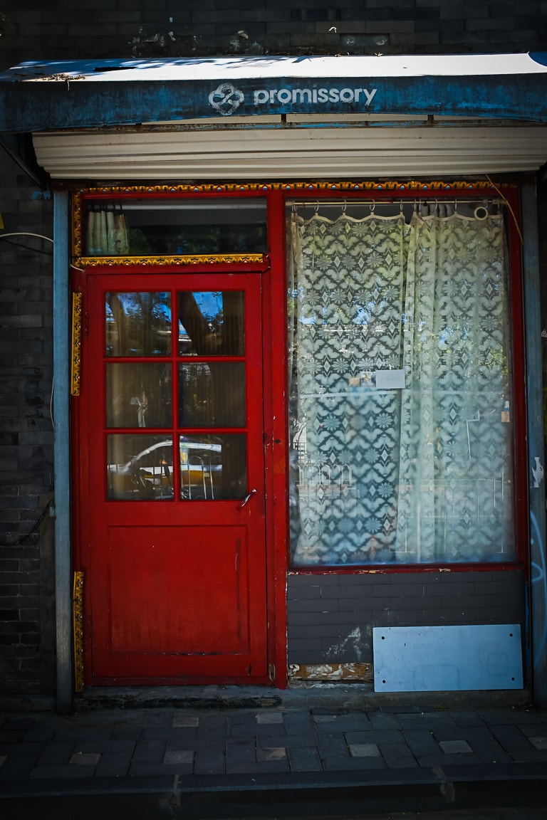 """Red Door"" Beijing, 2018"