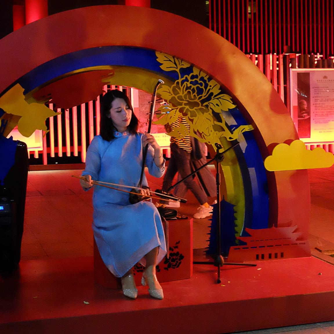 """""""Musician"""" Xi'an, 2018"""