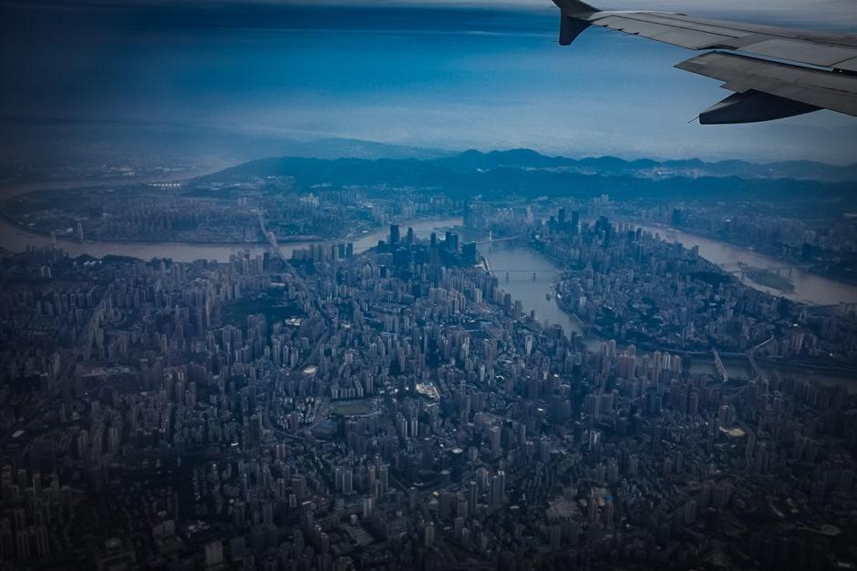 """SimCity"" Chongquin, 2018"