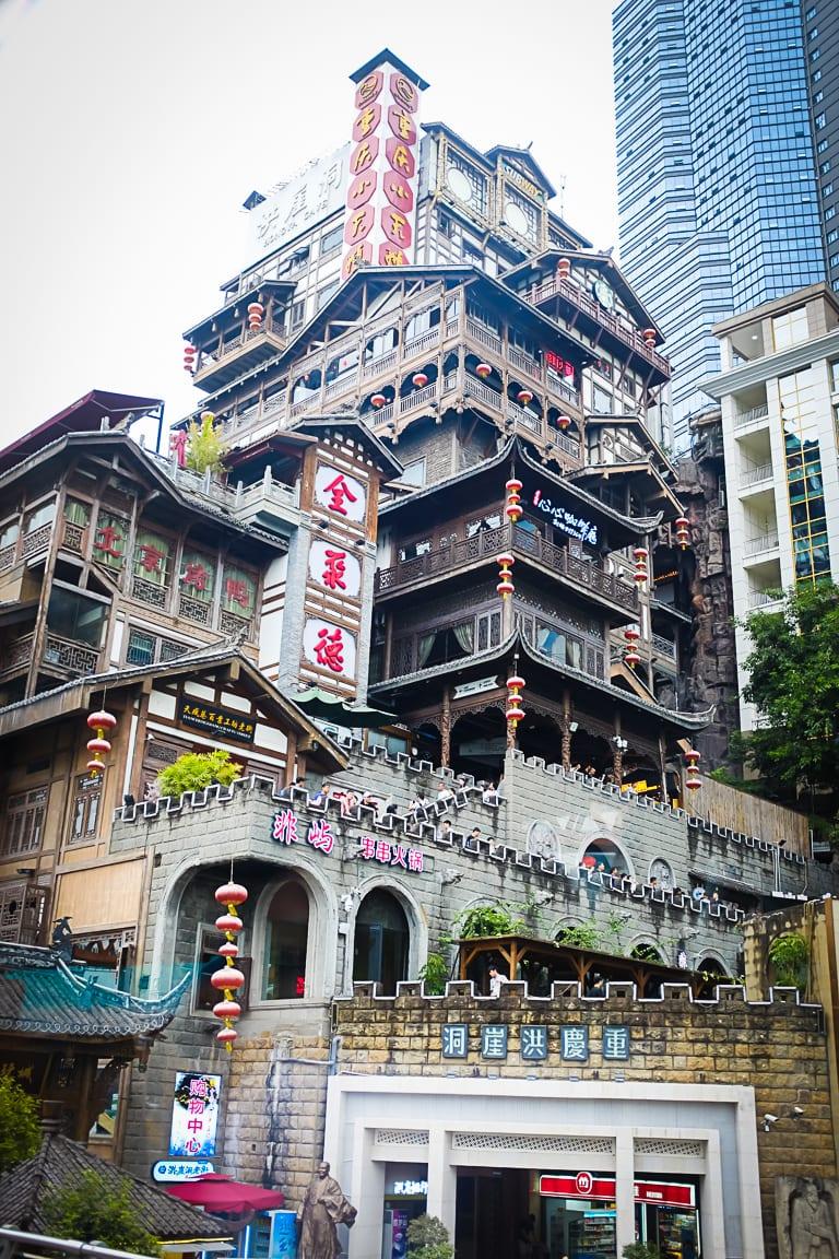 """Crazy Town"" Chongquin, 2018"
