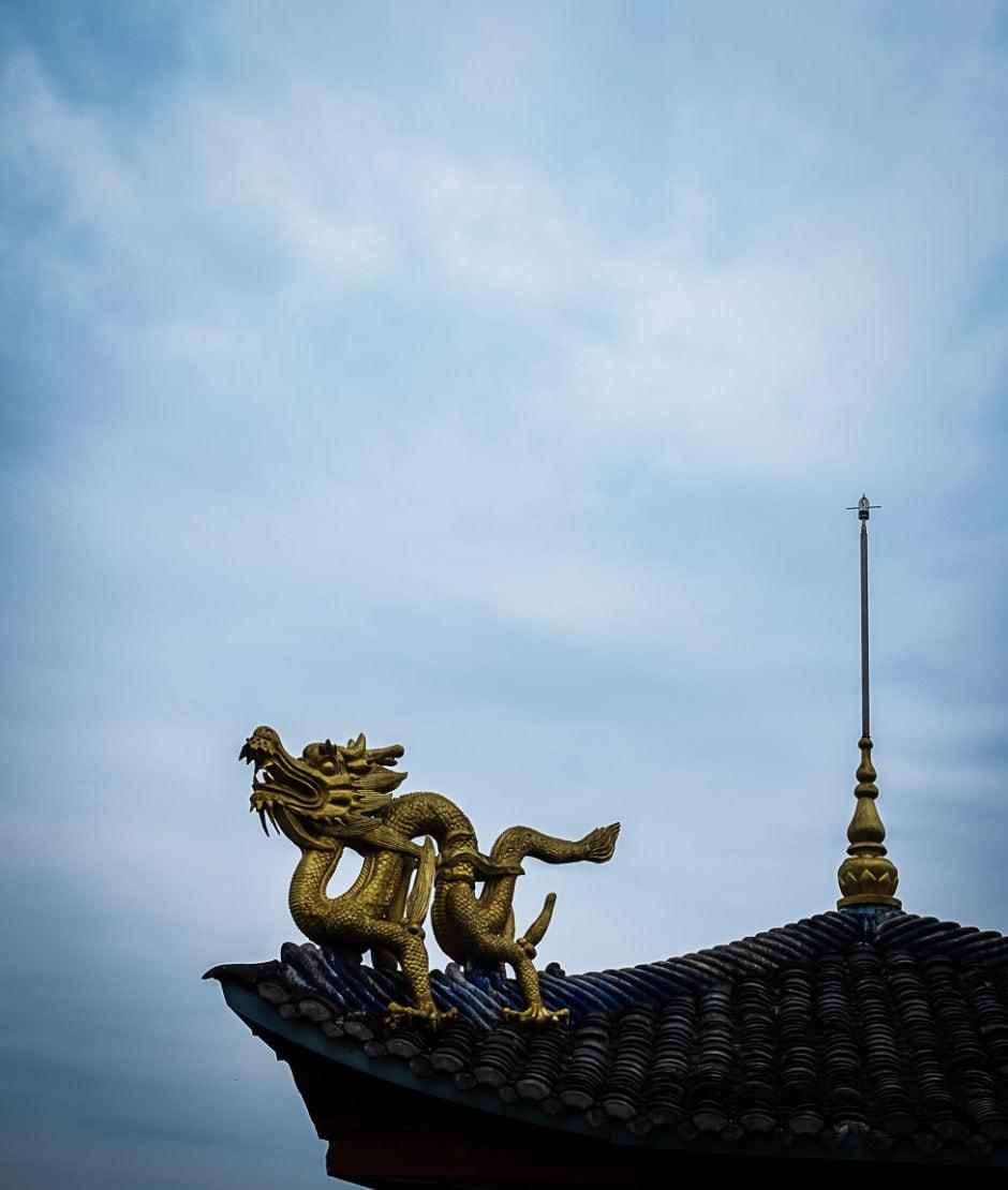 """Shibaozhai Temple"" Shibaozhai, 2018"