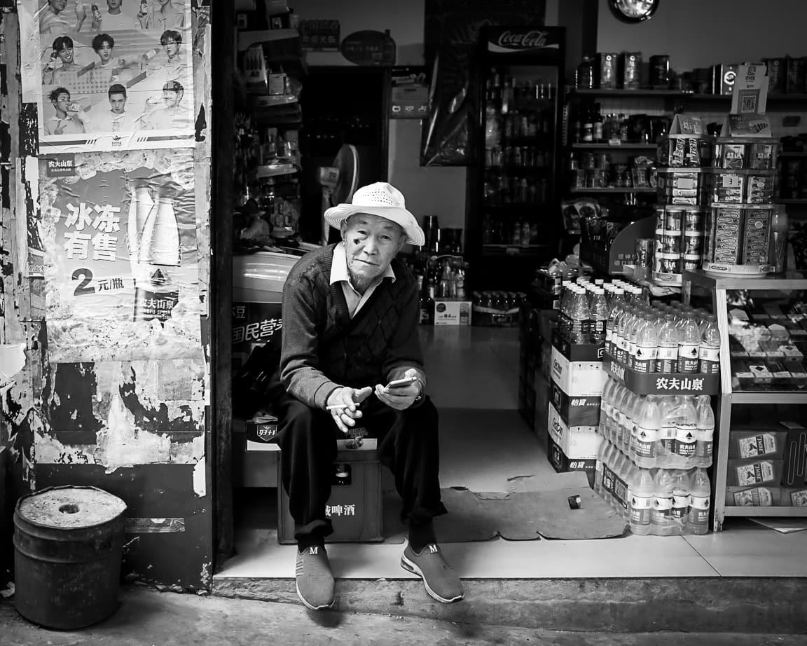 """""""Shopkeeper"""" Shibaozhai, 2018"""