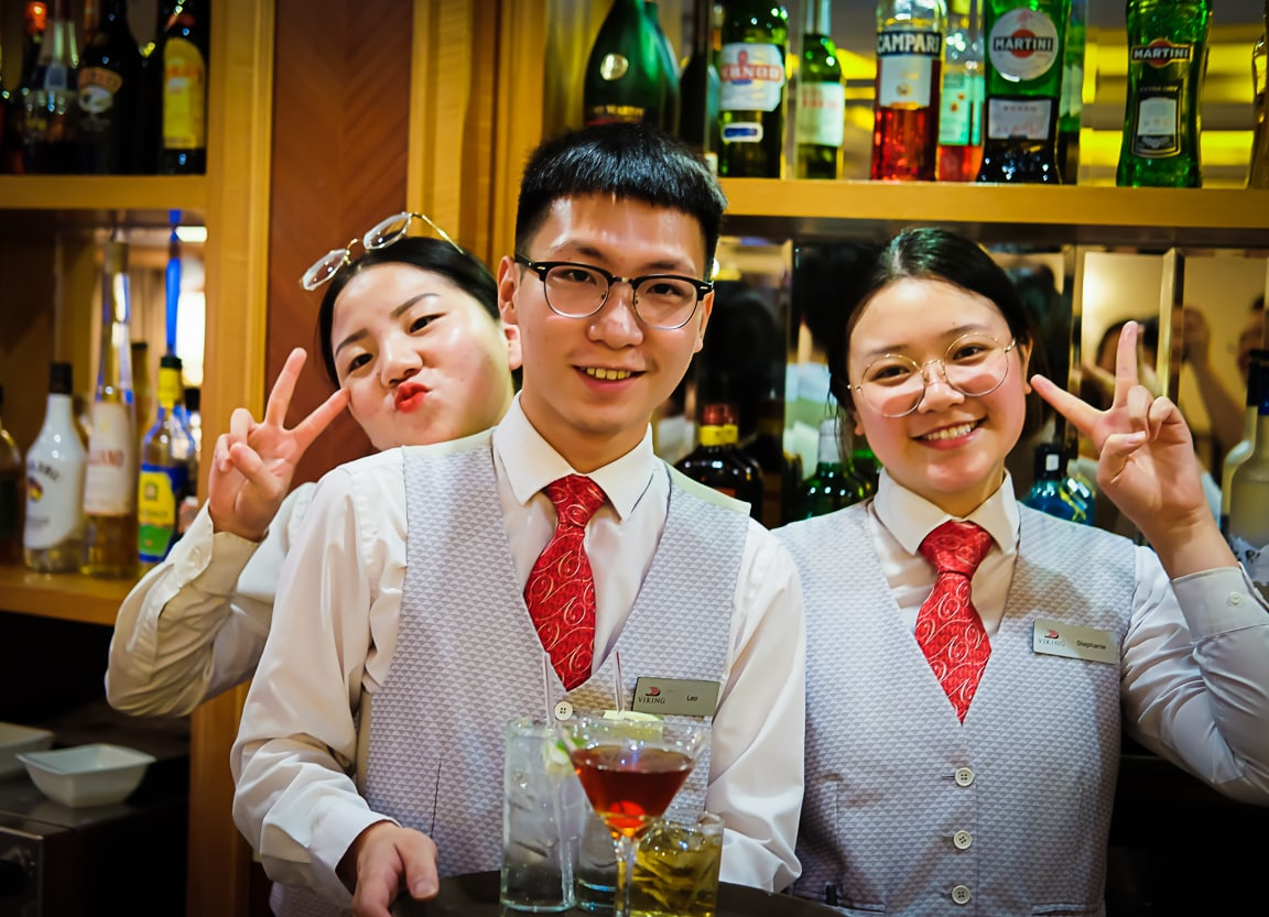 """Fun Bartenders"" Yangtze, 2018"