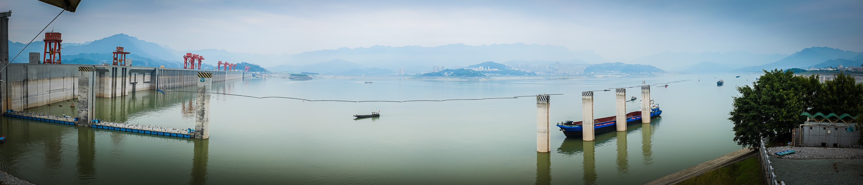 """Three Gorges Dam"" Sandouping, 2018"