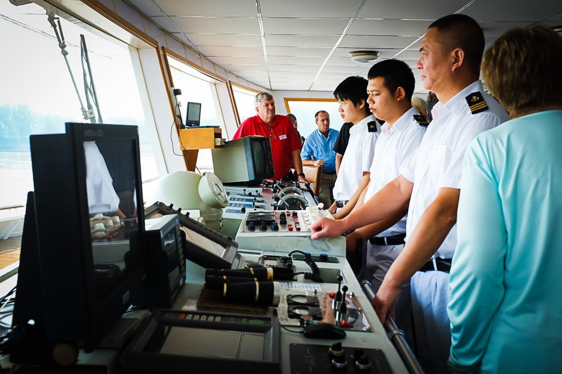 """Bridge Visit"" Yangtze, 2018"