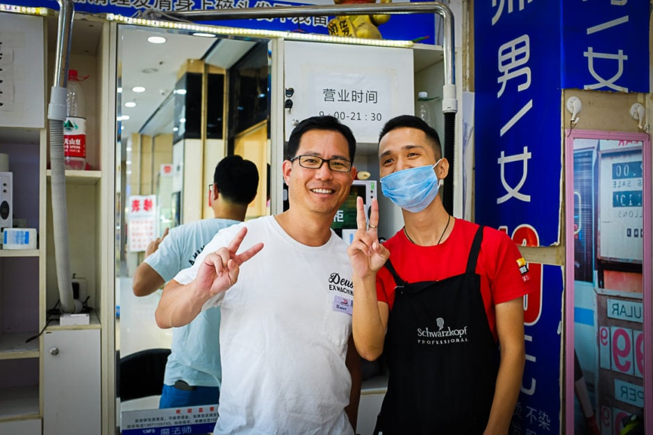 """Barber"" Wuhan, 2018"