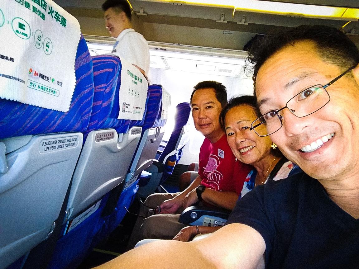 """""""Plane Selfie"""" Wuhan, 2018"""