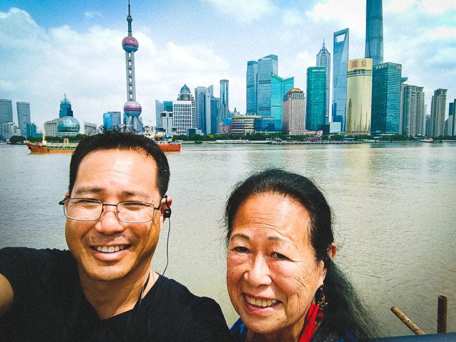 """""""Shanghai Selfie"""" Shanghai, 2018"""