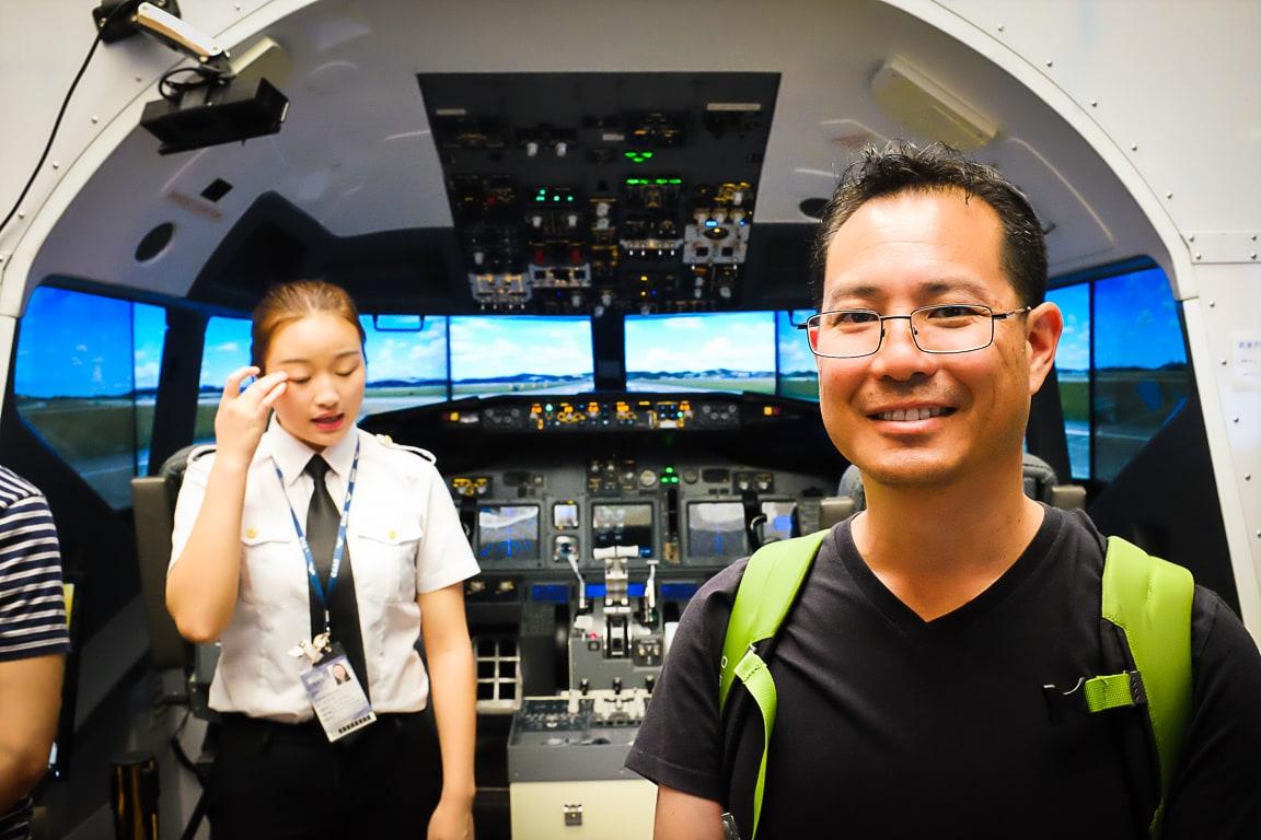 """""""737 Simulator"""" Shanghai, 2018"""