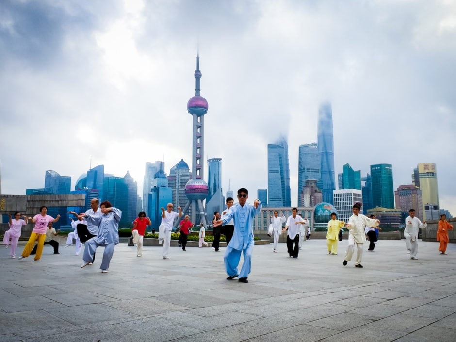 """Morning Taichi"" Shanghai, 2018"