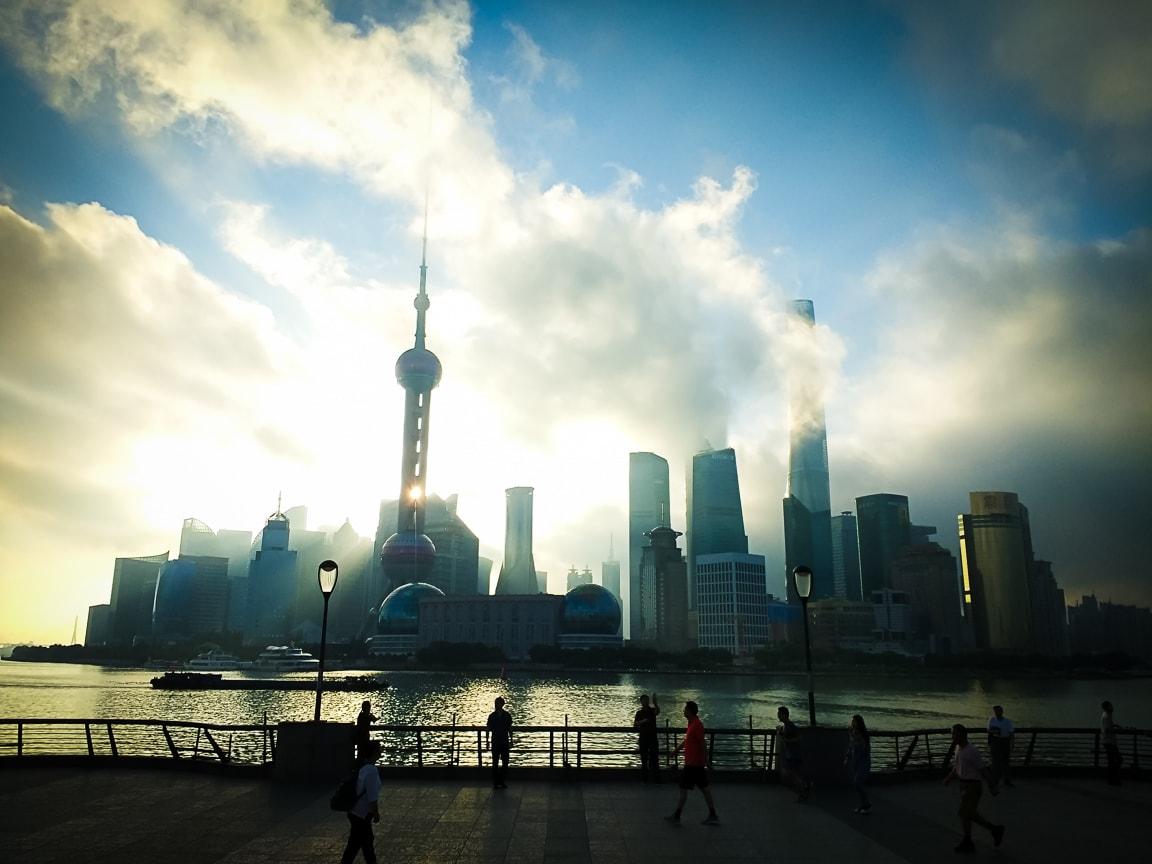 """""""Sunrise"""" Shanghai, 2018"""