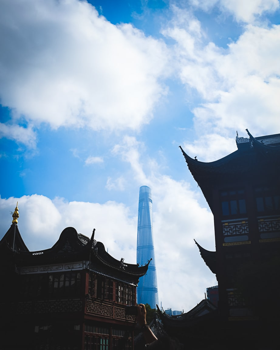 """""""Old and New"""" Shanghai, 2018"""