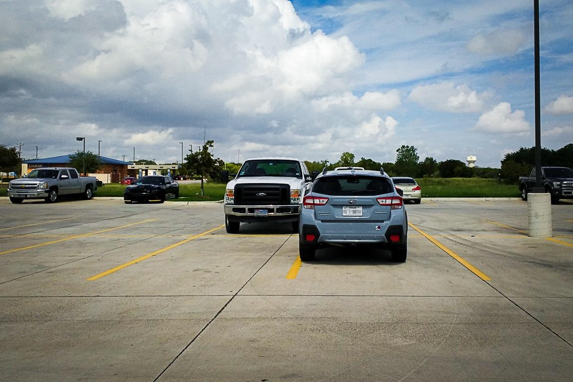 """Parking Challenged"" Cedar Park, 2018"