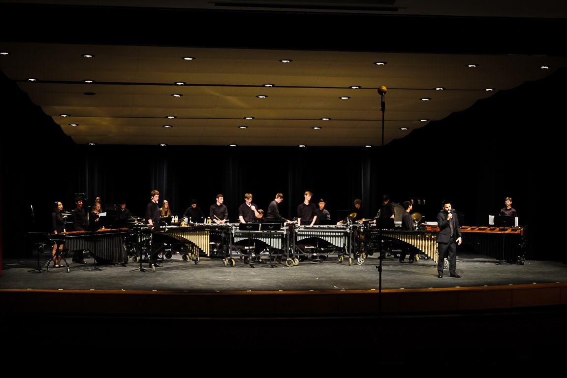 """Percussion Ensemble"" Cedar Park, 2018"