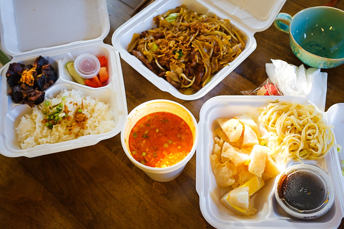 """Indonesian Take-out"" Cedar Park, 2018"